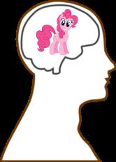Brain Pinkie Pie